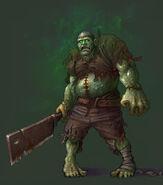 Чумной зомби-H5-концепт-арт