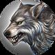 Лесной волк-иконка-H6