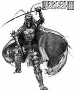 Скелет-воин (HoMM III)-концепт-арт