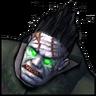 Гниющий зомби-иконка