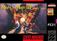 Might and Magic III-SNES-обложка