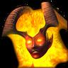 Демонесса-иконка