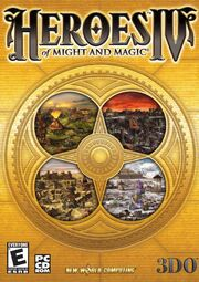Heroes of Might and Magic IV box