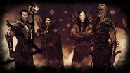 Загрузочный экран Лиги Теней