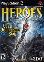 Heroes of Might and Magic - Quest for the Dragon Bone Staff Coverart