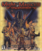 Might and Magic VIII - Day of the Destroyer Coverart