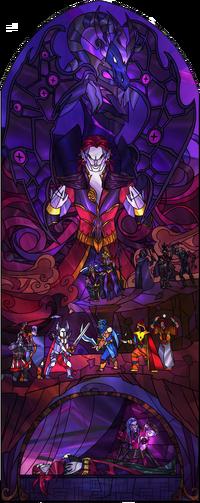 Витраж Лиги Теней