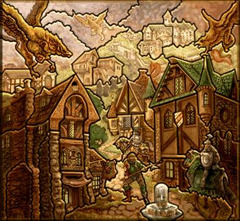 Карта-загадка - Замок H3