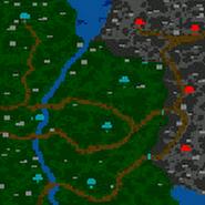 Кузнец страданий - карта (поверхность)