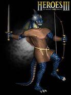 Ящер-воин (HoMM III)-арт