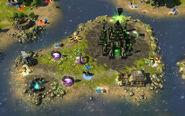 HoMM VI - игровая карта