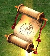Магический свиток с заклинанием