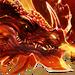 Пылающий дракон-иконка-H7