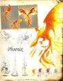 Феникc (HoMM V)-артбук