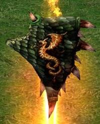 Щит из чешуи дракона
