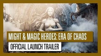 Might & Magic Heroes Era of Chaos - Official Launch Trailer Ubisoft Mobile