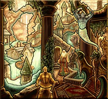 Карта-загадка - Башня H3