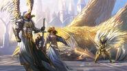 Сар-Хайн защищает Эльрата
