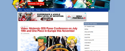 Nintendo 3DS Blog