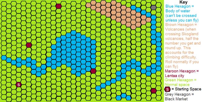 Skogland map