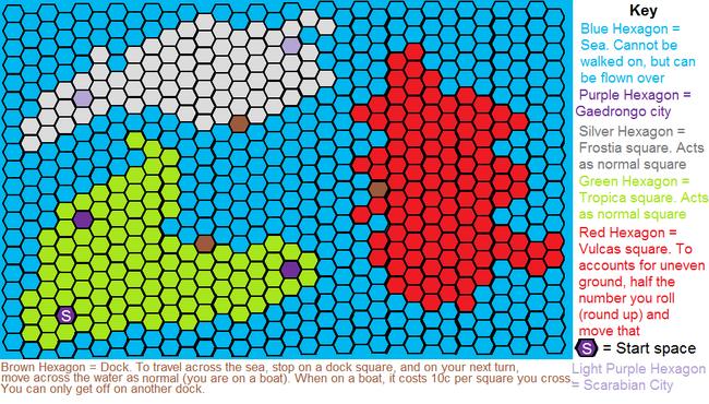 Dragovia map