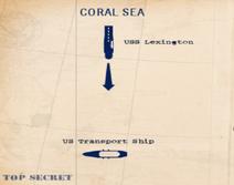 Coralsea torpedolessons