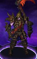 Xul - Necromaster - Golden