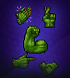Orc Hand Symbol Pack 3