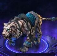 Lunar Tiger Mount - Blue