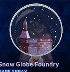 Spray - Snow Globe Foundry