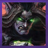WOW Illidan Portrait