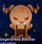 Spray - Gingerbread Butcher