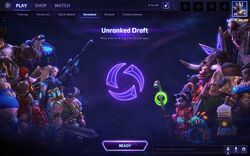 Unranked Draft Mode