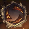 Garrosh Emblem Portrait