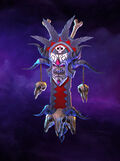 Crimson Witch Doctor Warbanner