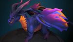 Alexstrasza - Dark Queen dragon