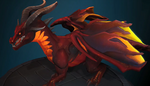 Alexstrasza - Red dragonflight dragon