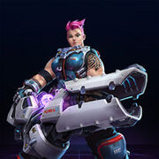 Zarya - Hero - Heroes of the Storm