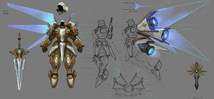 MechaStorm - Tyrael Concept 01