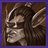 Sepia Illidan Portrait
