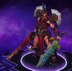 Sonya - Wrath - Crimson