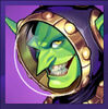 Mad Martian Gazlowe Portrait