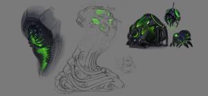 MechaStorm - Abathur Concept 01