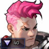 Portrait - Illustrated Zarya