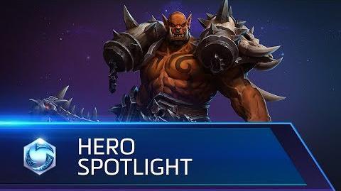 Garrosh Spotlight – Heroes of the Storm