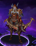 Sylvanas - Warchief - Crimson