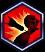 Icon Debilitating Dart