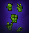 Orc Hand Symbol Pack 2
