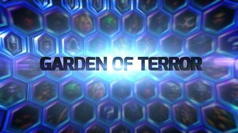 Heroes of the Storm Garden of Terror Battleground