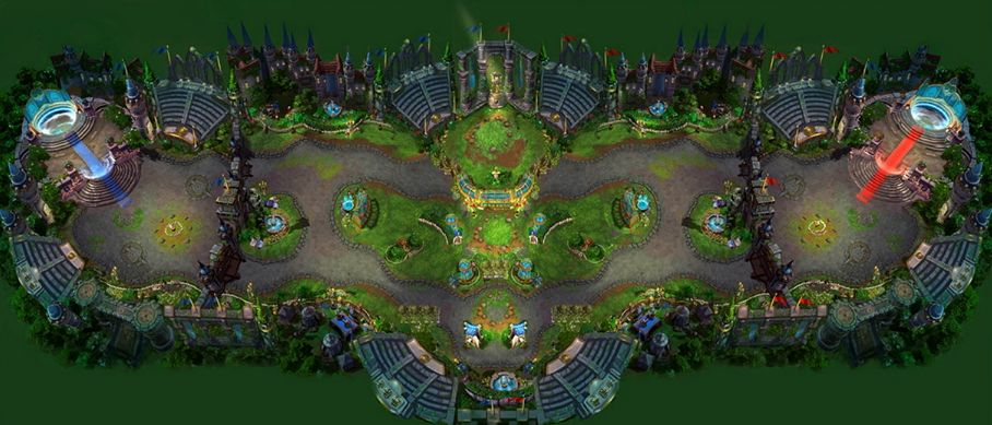 Heroes Of The Storm Maps Garden Arena | Heroes of the Storm Wiki | FANDOM powered by Wikia
